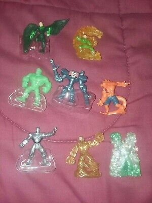 Marvel 500 figures Series 8  Mixed Lot of 8 figures, Iron Man et al.
