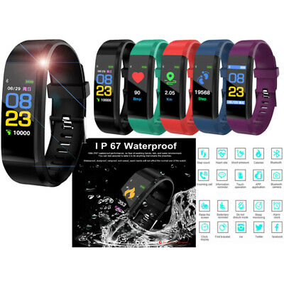 Fitness Smart Watch Activity Tracker Adult&Kids Fitbit Android iOS Heart Rate UU