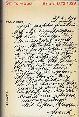 Sigmund Freud: Briefe 1873-1939. 1960. Selection of Freud's Letters