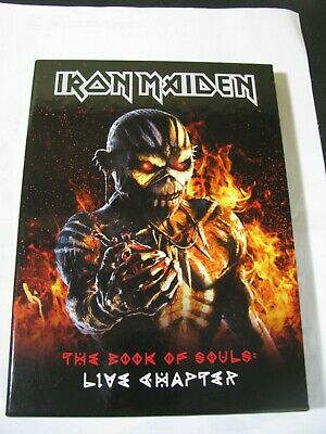 IRON MAIDEN The Book Of Souls Live Chapter (2017 Parlophone LIMITED 2CD DIGIBOOK