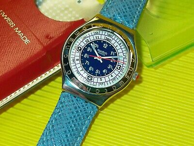 Swatch Irony Big - OCEAN STORM - YGS103 in NEU & OVP