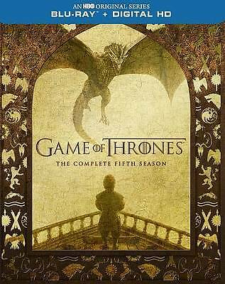 Game of Thrones The Complete Fifth 5th Season Blu-ray 4-Disc Set + Digital  NEW