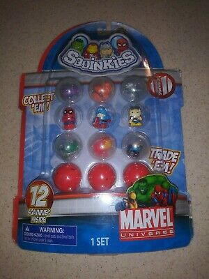 DC Comics Squinkies Marvel Universe Series 1 Collectible Figures- The Avengers