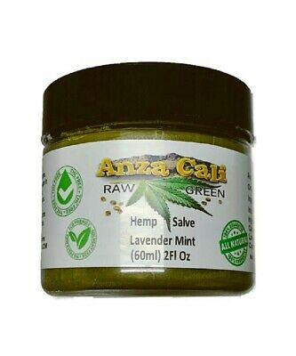 Premium Hemp Balm 2 oz Jar Lavender Mint for Joint and Muscle Pain 1000 mg