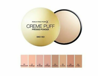 Max Factor Creme Puff Pressed Powder Compact 21g  -  Select Shade