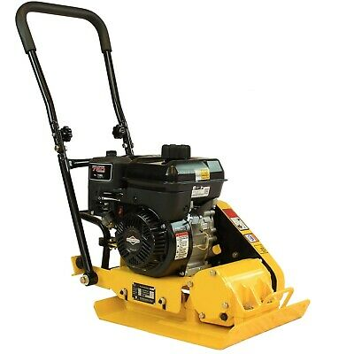 5HP Walk-Behind Vibratory Plate Compactor Asphalt Soil Tamper Briggs & Stratton