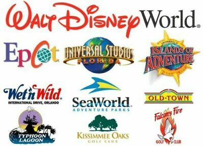 Unlimited Theme Park Shows Rental Cars Hotels Promo Code Discount Tool