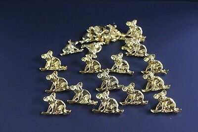 50 x Australian Made 24k Genuine Gold Plated ' Koala on Branch ' Hat/Lapel Pins