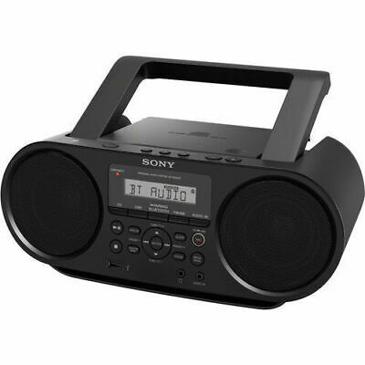 Sony Zs-Rs60Bt Personal Audio System, Boombox, Radio, Usb, Bluetooth, Cd