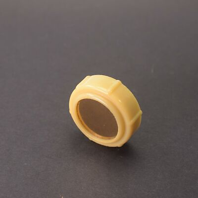 ZENITH Tube Radio Knob Plastic 1950s Midcentury Splined Shaft (1) Used A050