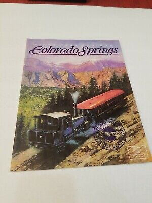 Pikes Peak Region & Colorado Springs Official Visitors Guide 1991 Excellent Cond