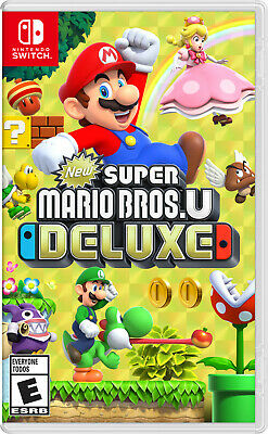 New Super Mario Bros. U Deluxe (Switch, 2019) -FREE SHIPPING-