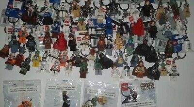LEGO Accessories Minifigure Keychain Collectible - Choose Your Character