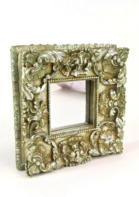 Mirror Ornate French Style Antique Silver Champagne Deep Wall Mirror