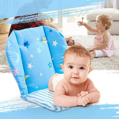 Baby Removable High Chair Mat Feeding Seat Folding Cover Booster Pram Pad !