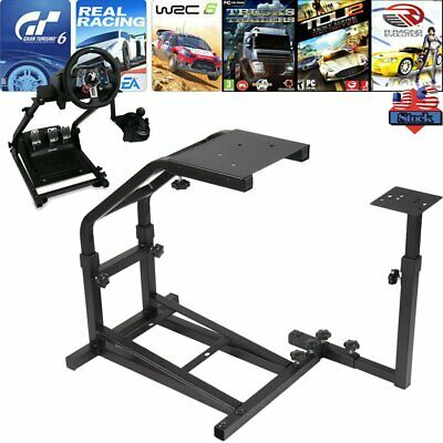 6184af23b51 Gaming Racing Simulator Steering Wheel Stand Mount for Logitech G29, G27  and G25