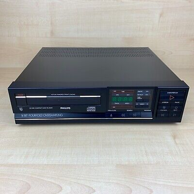 Philips Cd 160 Cd Player 16 Bit Vintage Rare- Full Working Condition