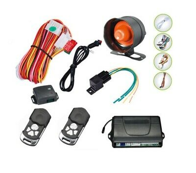 Talking Car Alarm System Remote Central Locking Immobiliser Kit UK SELLER NEW