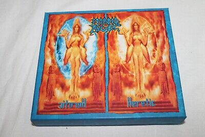 "Morbid Angel * Heretic"" 2-CD, 2003, Box, Limited Edition, Special Edition, C 5"