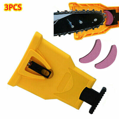 Easy File Chainsaw Teeth Chain Sharpener Power Sharp Bar-Mount for Woodworking