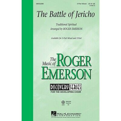 The Battle of Jericho (Discovery Level 2) 3-Part Mixed arranged by Roger Emerson