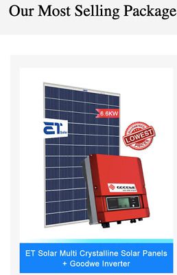 Solar System 6.6kw Tier 1 quality for only $3790 fully installed inc GST