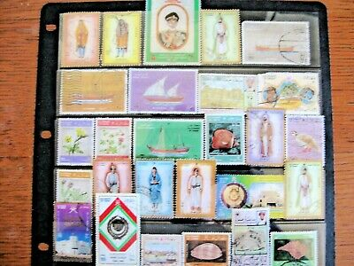 Selection Of Stamps Of Oman, Very Good Quality,