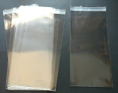 Clear Envelopes 125 x 230mm + Flap for DL Ideal for FDC Cover Protection