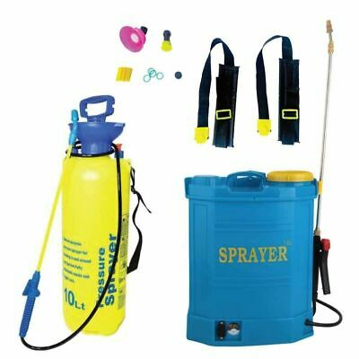 Electric Rechargeable Backpack Portable Pressure Sprayer 16L
