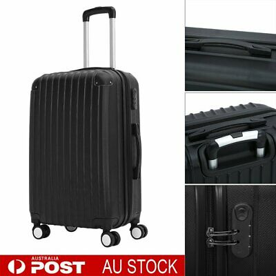 "28""ABS+PC Luggage Suitcase Trolley Set TSA Lock Travel Hard Case Light weight AU"