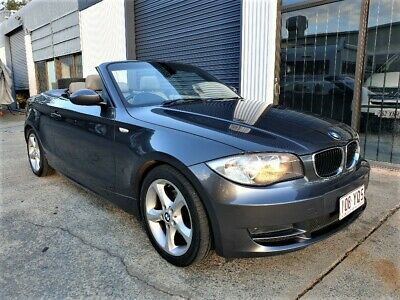 2008 BMW 120i Convertible E88 Automatic Rego RWC