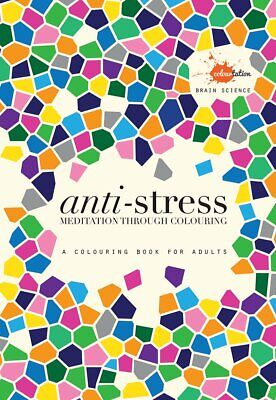 Anti Stress: A colouring book for adults, New, Books, mon0000119983