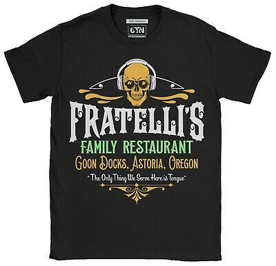 Fratelli's Family Restaurant T-Shirt Funny 80s Goonies The Movie Funny Retro