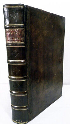 William Camden / Camden's Britannia Newly Translated into English With Large