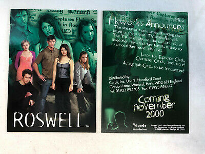 INKWORKS ROSWELL SEASON ONE TRADING CARDS AUTOGRAPH CARD JULIE BENZ #A6
