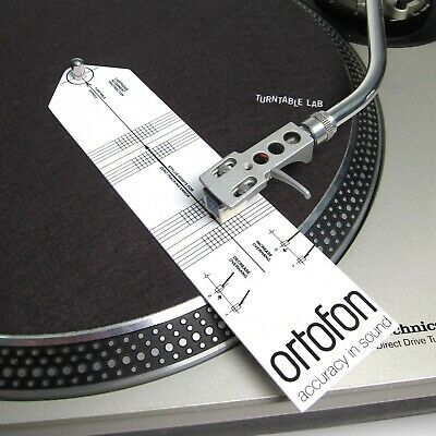 Ortofon Cartridge Alignment Protractor