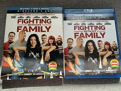 Fighting With My Family (Blu Ray 2019) BLU RAY DISC & CASE ONLY ⬇️Read⬇️
