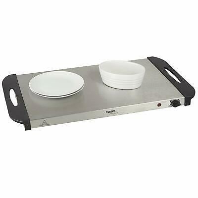 Cooks Professional Buffet Server Hotplate Food Warmer Hostess with 4 Sections