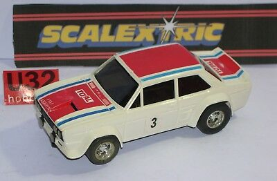 FN Scalextric 093213 Fiat 131 Abarth #3 Rally Very Good Condition Unboxed