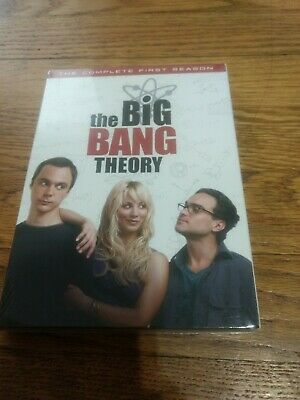 The Big Bang Theory (DVD) Complete First Season New Sealed
