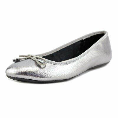 Alfani Womens Aleaa Closed Toe Ballet Flats, Pewter, Size 8.0 CC7T US / 6 UK