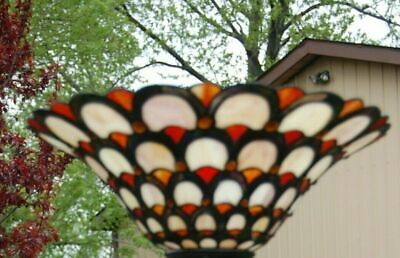 Dale Tiffany Like Decorative Stained Glass SHADE Elegant Replacement shade