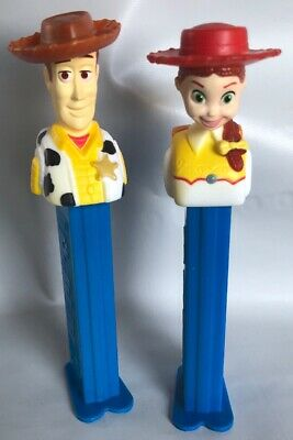 Lot of 2 Pez Candy PEZ DISPENSER Toy Story !