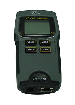 New Ideal 33-856 Vdv Multimedia Cable Tester