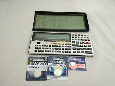Casio calculator FX-880p with owner's manual # 539