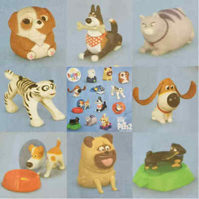 MCDONALD'S HAPPY MEAL Toys The Secret Life Of Pets 2  8 Toys Bundle