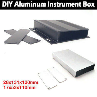 Quality Aluminium Enclosure Project Box For Electronic 131*120*28mm, 110*53*17mm