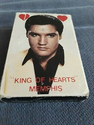Elvis Presley VINTAGE PACK OF PLAYING CARDS ALL WITH DIFFERENT PICS