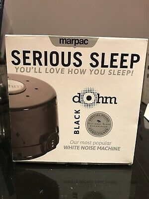 Marpac Dohm White Noise Sound Therapy Machine - Black