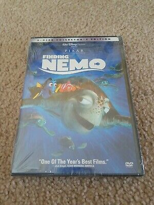 Finding Nemo (2-Disc DVD Collector's Edition) Sealed